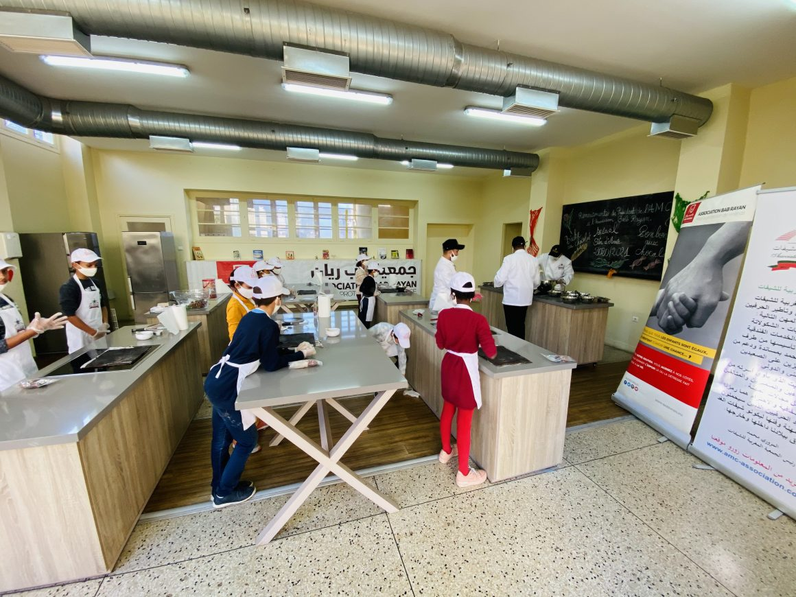 Atelier culinaire Association Marocaine des Chefs